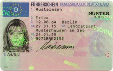 Deutscher Führerschein in Spanien